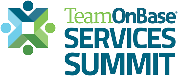Team OnBase Services Summit Logo