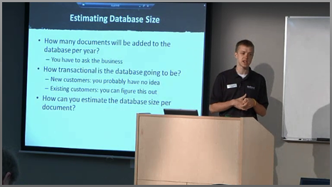 Database Admin 2: Capacity Planning (2013)