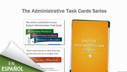 System Administration Task Cards